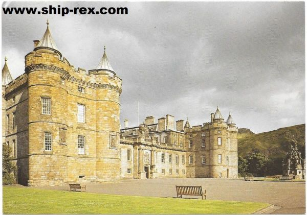 Palace Of Holyroodhouse - postcard